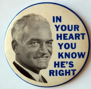Goldwater button